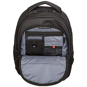 Victorinox Vx Sport Cadet Laptop Backpack, Black/Black Logo, One Size
