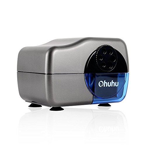 Ohuhu Electric Pencil Sharpener with 6-Pencil Hole Selector Dial (6,7,8,9,10,11mm)