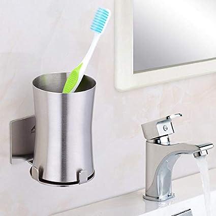 Cepillo de dientes eléctrico taza taza taza de cepillado cepillo cepillo de dientes pasta colgando,
