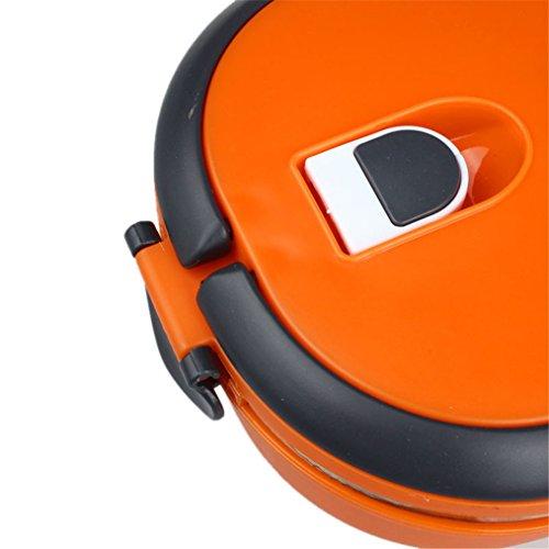 Lunch Lunch Box, HP95 (TM) Aislamiento simple /multicapa de acero inoxidable Lunch Bento Box Contenedor de comida Lonchera aislada (estilo individual)
