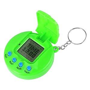 VGEBY Electronic Virtual Pet, Nostalgic Virtual Digital Pet Children Baby Electronic Toys (Green)