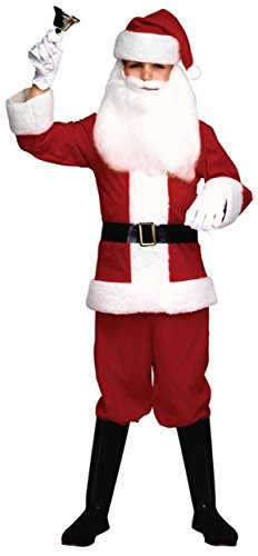 Child's Santa Claus Suit Child Costume - Small (Santa Claus Costume For Girl)