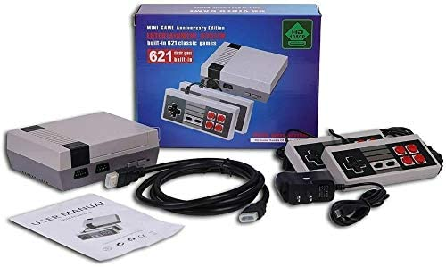 BESTIM Retro Mini Video Mini Console Built-in 620 Classic Games Dual Gamepad Gaming Player Handheld Games RCA or HDMI Christmas Stuffer[US Stock] (HDMI)