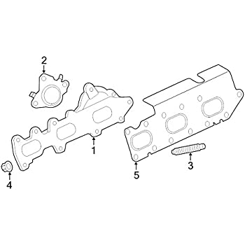 Genuine Ford AA5Z-9450-C Exhaust Manifold Gasket
