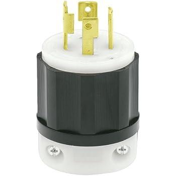 Hubbell HBL 2433 20A 480V 3Ø Twist-Lock Connector L16-20R Used-2