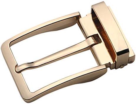 Mens Alloy Belt Buckle Replacement Antique Pin Buckle Rectangular