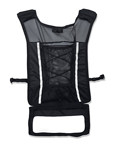 Roadnoise Long Haul Vest Running and Cycling Vest with speakers. Safer running and riding with music. (Black, X-Small/Small) by Roadnoise (Image #4)
