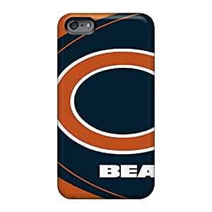 Apple Iphone 6 Sdt90BOVe Support Personal Customs Beautiful Chicago Bears Pattern Great Hard Cell-phone Cases -casesbest88