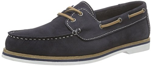 Tamaris 23616, Damen Bootsschuhe, Blau (NAVY NUBUK 831), 38 EU