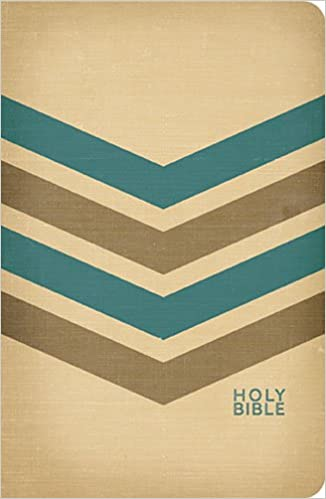 Holy Bible: New King James Version Tan / Brown / Blue