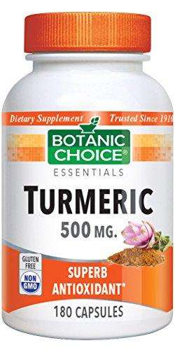 Turmeric Capsules, 180 Count, 500mg