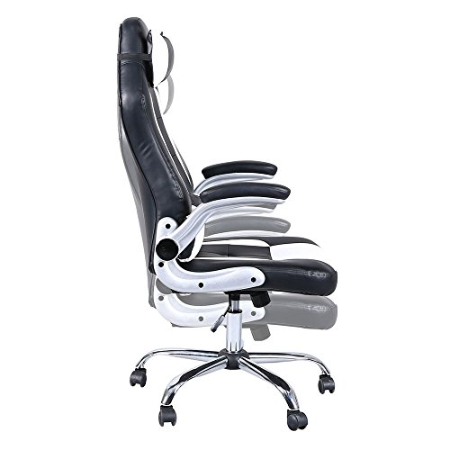 41mKUbEkR L - Video-Game-ChairHome-Office-Chair-C-Shaped-Wheelchair-High-back-Computer-Ergonomic-Design-Racing-Chair-Gaming-Swivel-Chair-With-Armrest-for-Adults