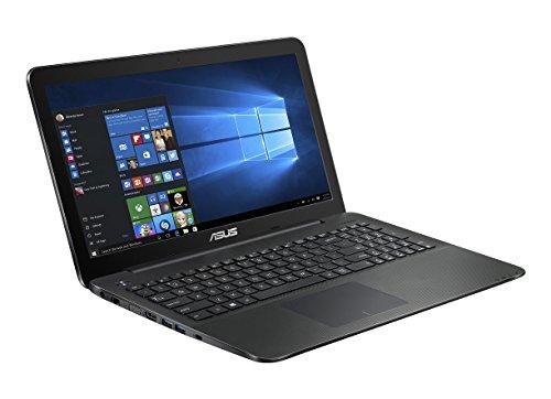 Asus F554LA-XX2664T 39,60 cm (15,6 Zoll HD) Notebook (Intel Core i3-4005U, 4GB RAM, 1TB HDD, Intel HD Graphics 4400, DVD, Win 10 Home) schwarz