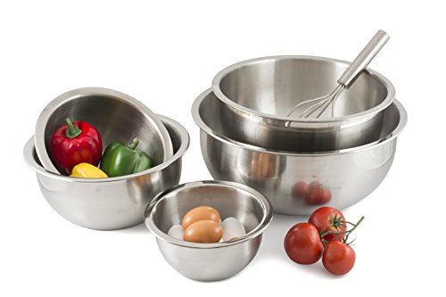 HIC Harold Import Co. 48003 HIC Stainless Steel Mixing Bowl, 6-Quart