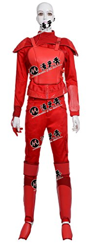 Hunger Games 2 Costumes (Mtxc Women's The Hunger Games: Mockingjay-Part 2 Cosplay Costume Katniss Everdeen Full Set Size Medium Red)