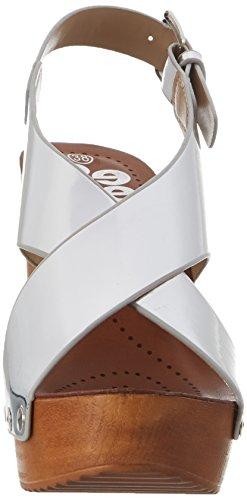 Refresh 63558, Sandalias de Tacón Mujer Plateado (Plata)