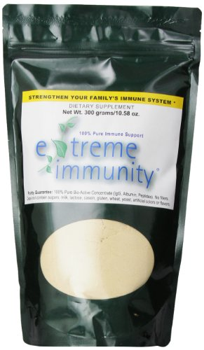 Extreme Immunity 100% Pure Immune Support / Two Month Supply, 300 Gram Container.