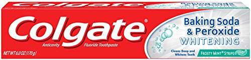 Price comparison product image Colgate Baking Soda & Peroxide Whitening Toothpaste Frosty Mint Stripe
