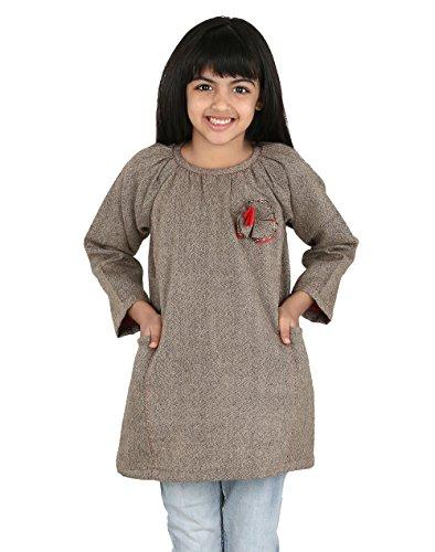 Fabindia Girls Wool Tweed Tunic/2-3Yr by Fabindia