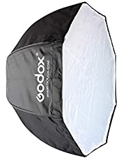 Houshome 120cm / 47,2 pol. Portátil octógono softbox guarda-chuva refletor para flash