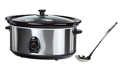Buongustaio 65L Slow Cooker Sear-and-Stew 220240V - OVERSEAS USE ONLY FOR 220240-VOLT OPERATION ONLY WILL NOT WORK IN USACANADA Type F EUROPE Schuko Plug