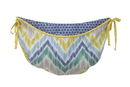 (Cotton Tale Designs Toy Bag, Zebra Romp )