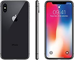 "iPhone X Apple 256GB 4G Tela Super Retina 5.8"" iOS Câmera 12MP Cinza Espacial MQAF2BZ/A"
