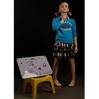 Brand New Beautiful Cute Child Girl Female Full Body Fiberglass Realistic Mannequin Flesh Tone (KW2)