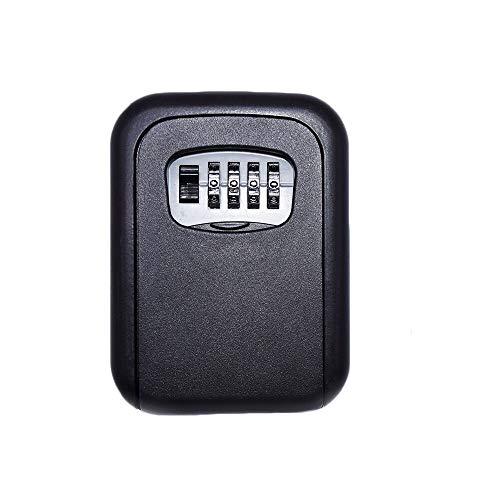 Mioke Caja de Llaves,4 Dígitos de Contraseña, Dispositivo Antirrobo de Tercera Generación, Caja de Seguridad para Guardar...