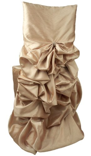 Wildflower Linen Iridescent Taffeta Diana Chiavari Chair Cover, Stardust