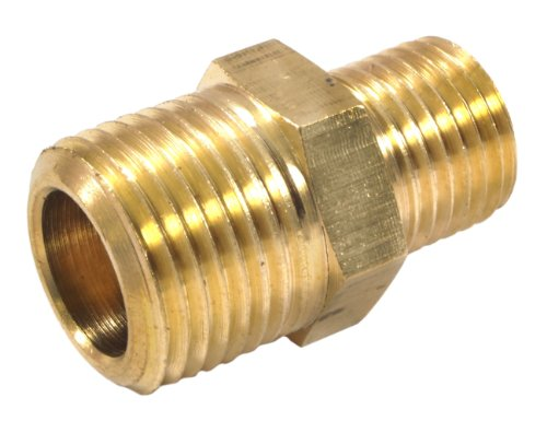 Forney brass fitting reducer adapter inch male