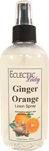 Ginger Orange Linen Spray, 16 ounces