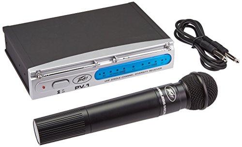 Peavey PV-1 V1 Handheld 923.700MHz Wireless Microphone System (Peavey Wireless Mic)