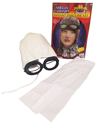 [Forum Amelia Earhart Instant Disguise Kit] (Women In History Costumes)
