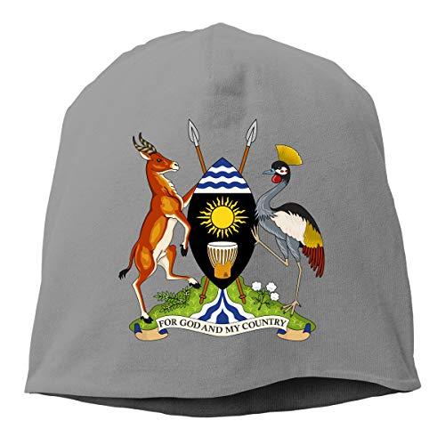 (X-JUSEN Unisex Coat of Arms of Former Eritrea National Emblem Knit Beanies Hat, Hip-Hop Skull Cap, Daily Beanie, Watch Cap, Plain)