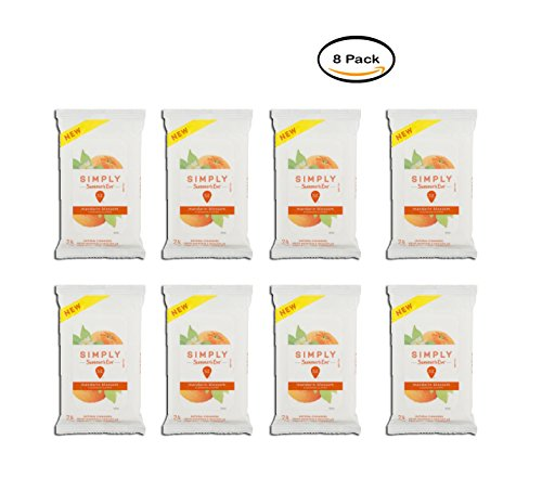 PACK OF 8 - Summer's Eve Simply Cleansing Cloths, Mandarin Blossom, 24 Ct - Mandarin Blossom