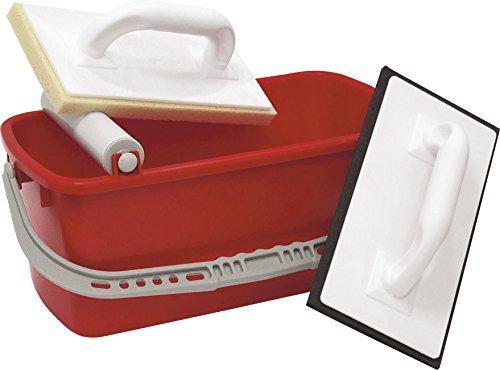 TRIUSO Fliesenleger-Waschset 3-teilig 10 Liter