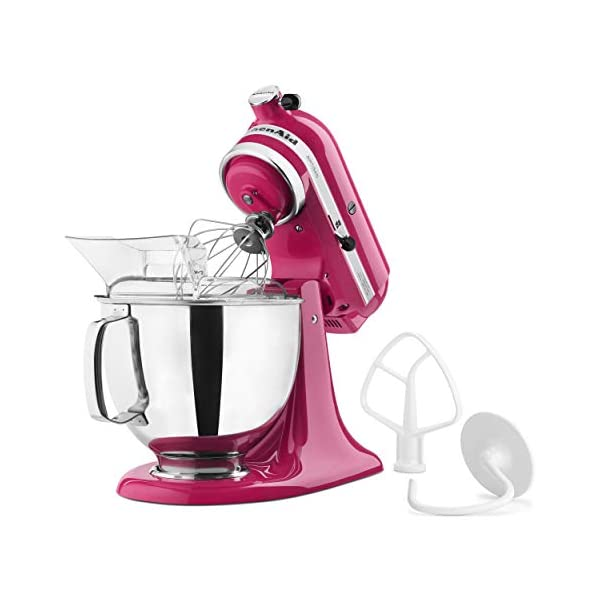 KitchenAid KSM150PSCB Artisan Series 5-Qt. Stand Mixer with Pouring Shield - Cranberry 3
