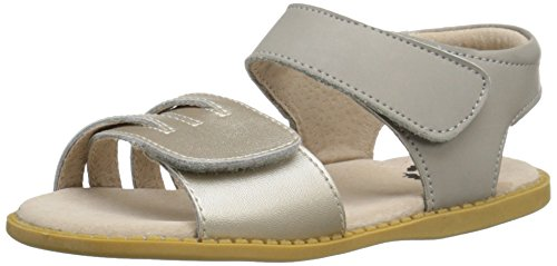 Livie & Luca Athena Sandal (Toddler/Little Kid), Silver/Metallic, 8 M US Toddler