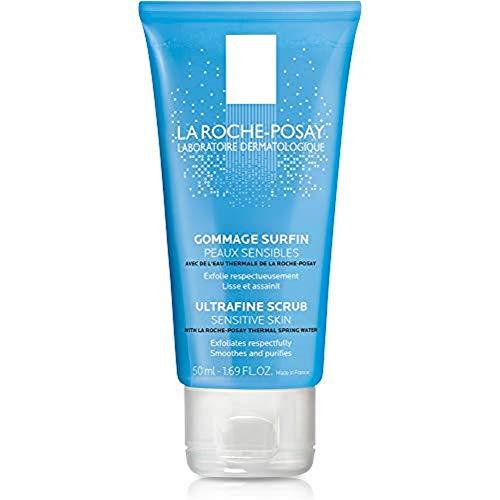 La Roche-Posay Ultra-Fine Scrub for Sensitive Skin, 1.69 Fl Oz