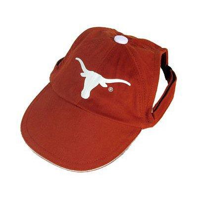 Collegiate Texas Longhorns Dog Cap, Small  - New Design