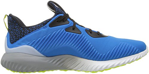adidas Mens Alphabounce M Running Shoe Shock Blue/Ice Yellow/Light Grey Fnex8aL