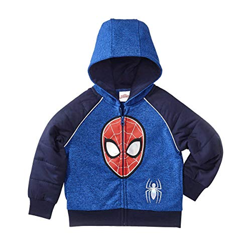 Character Kids' Full Zip Hoodie (Spiderman, -