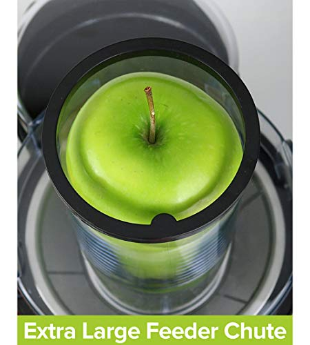 """MUELLER Juicer Ultra 1100W Power, Easy Clean Juice Extractor Press Centrifugal Juicer Machine, Wide 3"""" Feed Chute for Whole Fruit Vegetable, Anti-drip, High Quality for Fruits and Vegetables, BPA-Free by Mueller Austria (Image #6)"""