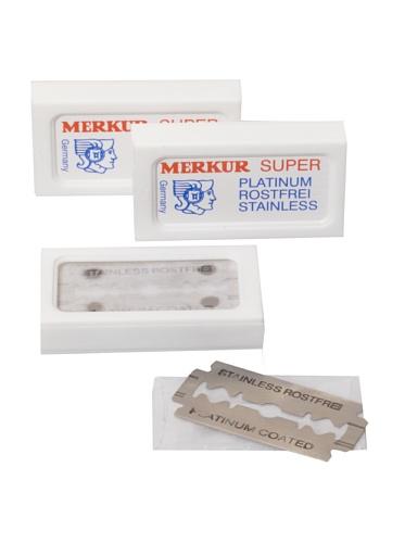 Merkur Combo Pack of 30 Razor Blades