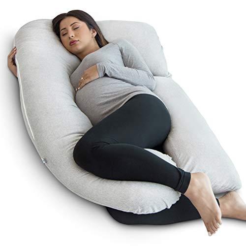 PharMeDoc Pregnancy Pillow, U-Shape Full Body