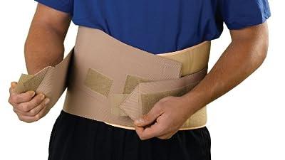 Medline Universal Back Support Beige by Medline