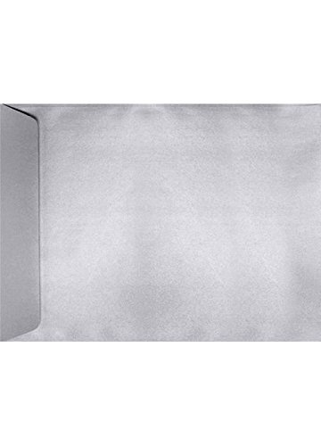 9 x 12 Open End Envelopes - Silver Metallic (50 Qty) | Perfect for Catalogs, Annual Reports, Brochures, Magazines, Invitations| 4894-06-50