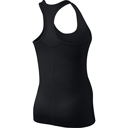 Nike W Nk Dry Tank Balance - Top sin mangas para mujer negro (black / white)