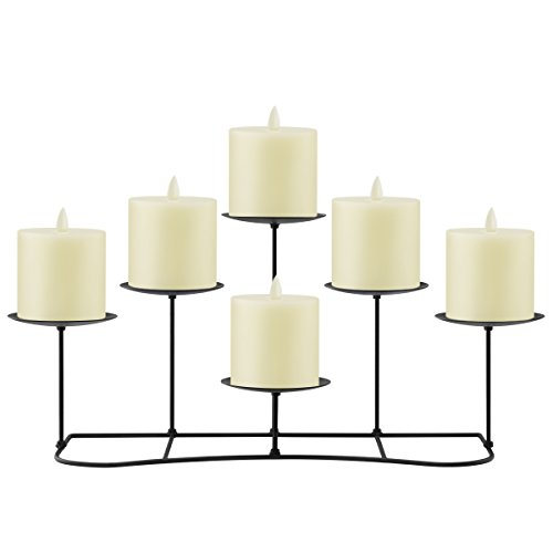 candle holders fireplace - 8